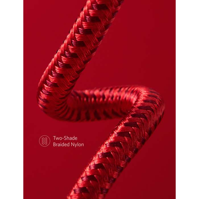 Anker Powerline+ II 10ft/3m Lightning cable - Red