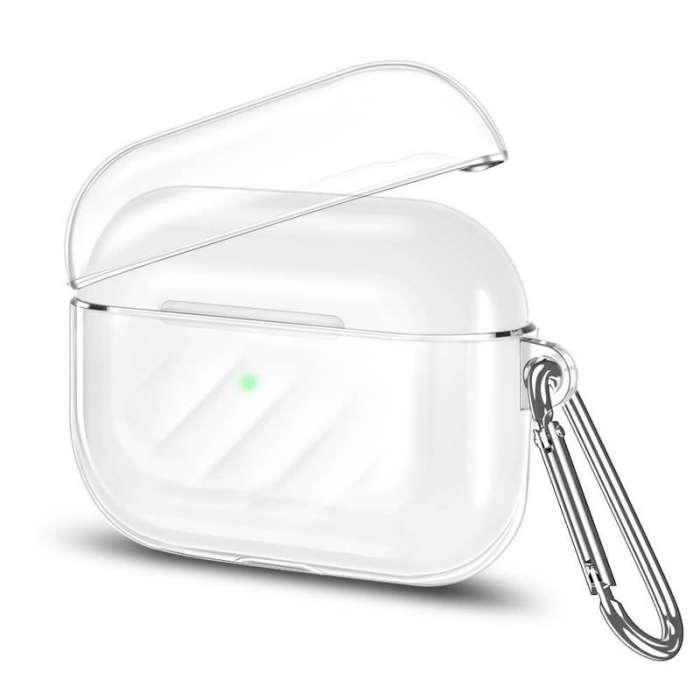 AirPods Pro Soft Silicone Full Protective Case - Clear
