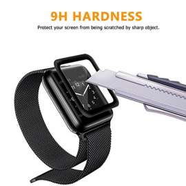 9H Hardness Apple watch Tempered Screen Glass  Full Glue