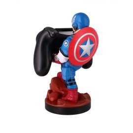 CAPTAIN AMERICA CONTROLLER & PHONE HOLDER WITH CHARGING CABLE