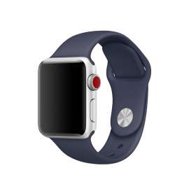 SILICON STRAP FOR APPLE WATCH - BLUE