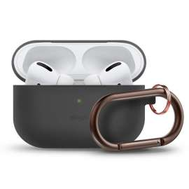 Elago AirPods Pro Slim Hang Case - Dark Grey