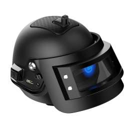 GameSir GB98k Portable Bluetooth Speaker PUBG Helmet Level 3 - Black