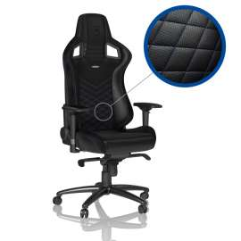 Noblechairs EPIC Gaming Chair - Blue/Black