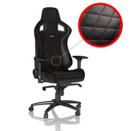Noblechairs EPIC Gaming Chair - Red/Black