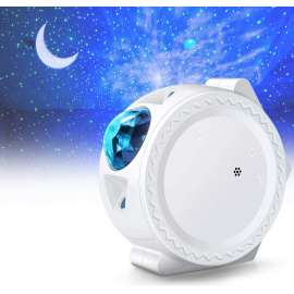 Starry Sky Projector Night Light CHARGEABLE - White