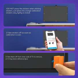Govee Immersion TV LED RGBIC Ambient Wi-Fi  Backlights with Camera