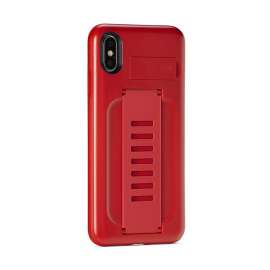 Grip2u Boost Case with Kickstand for iPhone XS Max Ruby (6.5)