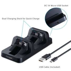 Dobe Charger Dock Charging Station for PS4 / PS4 Slim DualShock Controller