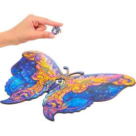 Intergalaxy butterfly wooden puzzle A3
