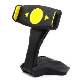 Universal Desk Tablet Mount Stand - Yellow/Black