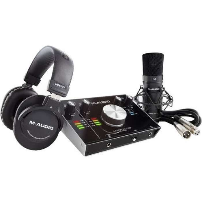 M-AUDIO AIR192X4SPRO COMPLETE VOCAL PRODUCTION PACKAGE