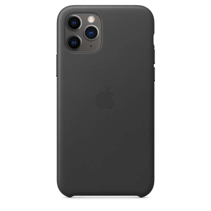 iPhone 11 Pro Leather Case - Black (MWYE2FE/A)
