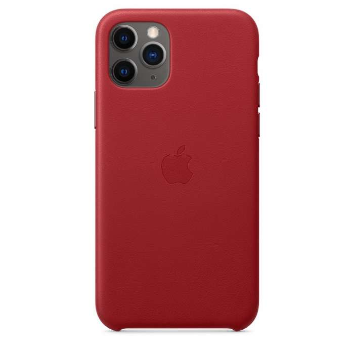 iPhone 11 Pro Leather Case (PRODUCT) - RED (MWYF2FE/A)