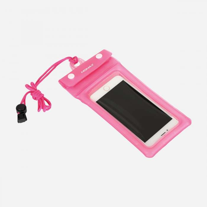MOMAX AIR POUCH FLOATING WATERPROOF POUCH PINK