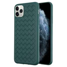 Joyroom Pattern Design Soft Case iPhone 11 Pro Max - Midnight Green