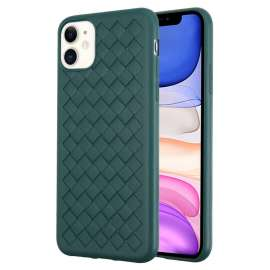 Joyroom Pattern Design Soft Case iPhone 11- Midnight Green