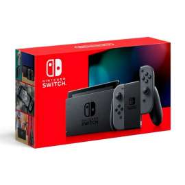 Nintendo Switch Gaming Console with Extended Battery - Grey Joy-Con