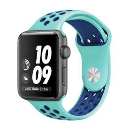 Apple Watch Sport Silicon Bands - Ocean Blue