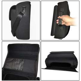 PS5 Travel Case Bag Storage for Console Wireless Controller Hard Case Game - Black
