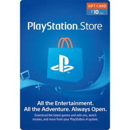 Sony Playstation Network Card $10 - US (Digital Code)