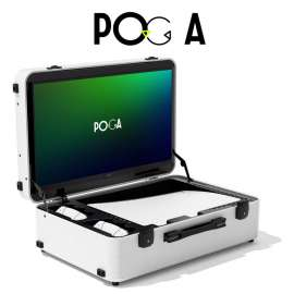 Poga Lux PS5 Gaming Monitor - White