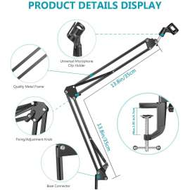 Professional Recording Microphone Stand
