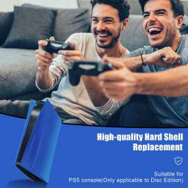 PS5 console Anti-Scratch Dustproof Protective Face Plate - Blue