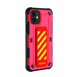 TGVIS Pursuit Series Case For iPhone 11 - Red