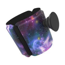 PopThirst: Cup Holder in Blue Nebula