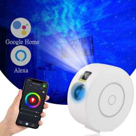 Smart Star Projector Galaxy Light Compatible with Alexa, Google Home,Control by App