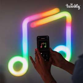 Twinkly Flex Smart App Controlled Rope Lights, RGB - 2m (MUSIC Frame)