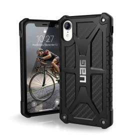 UAG Monarch Series Iphone XR Case - Carbon Fiber