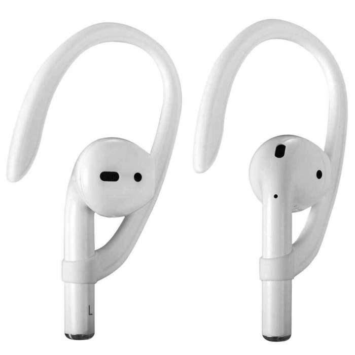 AirPods Airhook for Running, Jogging, Cycling, Gym,Fitness, Sports Fit for AirPods 1 & 2 , Airpods Pro - Black / White