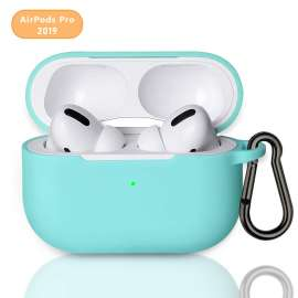 AirPods Pro Protective Silicon Case - Mint Green