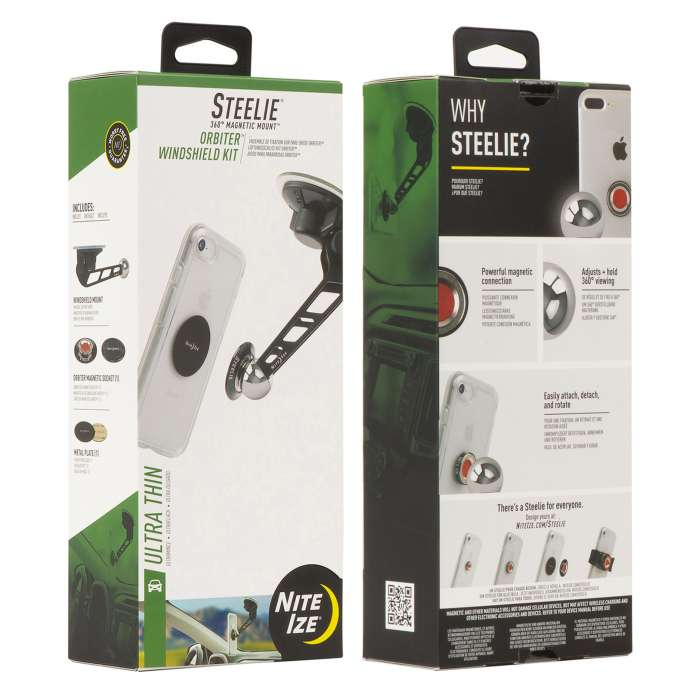 NITEIZE STEELIE® ORBITER® WINDSHIELD KIT