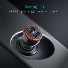 Anker PowerDrive 2 24W Dual USB Car Charger