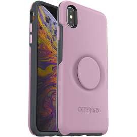 Otter + Pop Symmetry Series for iPhone Xs Max - Pink
