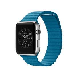 LEATHER LOOP STRAP FOR APPLE WATCH 38/40/42/44mm - Light Blue