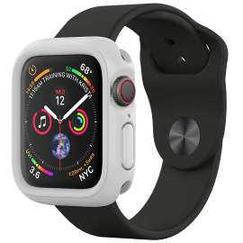 Apple Watch 360 Protective Case + Glass - White