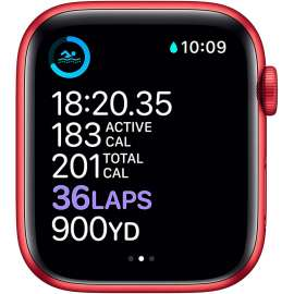 Apple Watch Series 6 GPS 44mm (Product) RED Aluminium Case