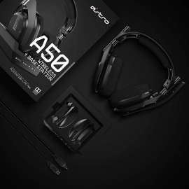Astro A50 Gen 4 Wireless Headset for PS4 - Black