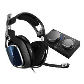 ASTRO Gaming A40 TR Wired Gaming Headset Gen 4 for PS4 - Black/Blue