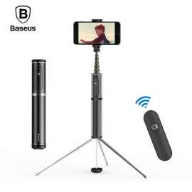 Baseus Bluetooth Selfie Stick Portable Handheld Smartphone Camera Tripod