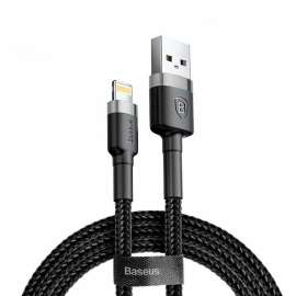Baseus Cafule Cable 0.5m USB to Lightning 2.4A - Black