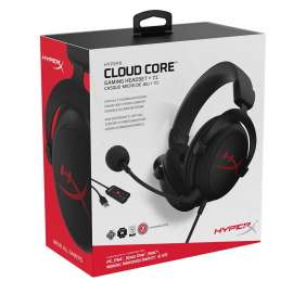HyperX Cloud Core+7.1 Surround Gaming Headset With Microphone