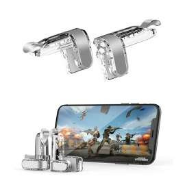 Call of Duty / PUBG Mobile Metal Trigger L1 R1 High Quality - Clear