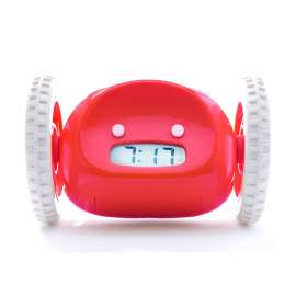 Clocky The Runaway Alarm Clock - Red
