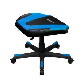 DXRacer Foot Rest Stool - Black/Blue