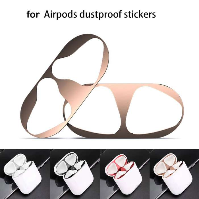 Dust Guard for AirPods-18K Gold Plating